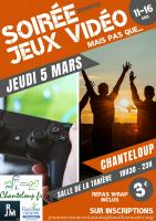 SOIREE JEUNESSE JEUX VIDEO
